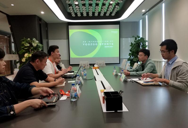 游族新闻丨徐汇区体育局副局长欧春云一行调研游族集团